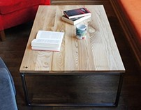 "Coffee table ""INDUSTRIAL"""
