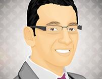 "Cartoonize your photo "" Mina Atef """