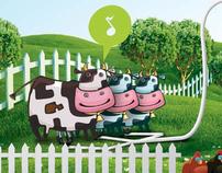 UHT Milk Process Wall