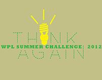 Westland Library Summer Challenge logos + shirt