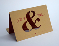 You & Me Valentines Card