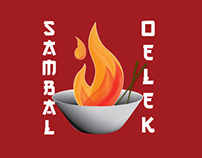 Sambal Chili Paste-Logo Design