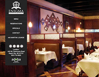 Enigma Restaurant Website