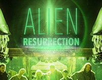 Alien Resurrection Movie Poster