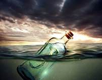 Message in the bottle