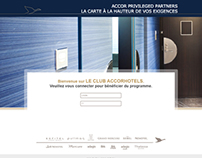 webdesign /// ACCOR /// privileged partner