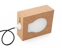 cork lamp - CasalVadio