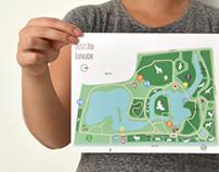 Map of Dusit Zoo