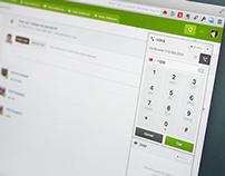 Zendesk Voice/Chat Widget