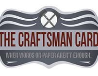 The Craftsman Card - Website Design
