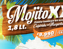 """Gráfica """"Mojito XXL"""" • Dublin"""