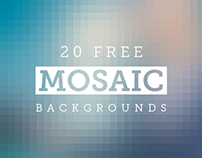 Download Free Mosaic Backgrounds