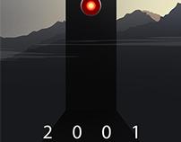 2001: A Space Odyssey Alternative Movie Poster