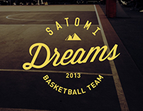 "BasketBall Team ""Satomi Dreams"" Logo Design"