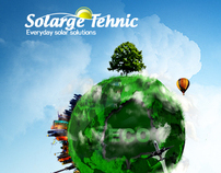 Solarge Tehnic Website Design