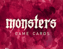 Monsters game cards