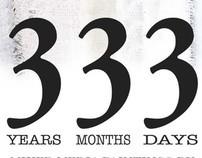 "Short Film ""Thee Years, Three Months & Three Days"""