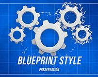 Blueprint Style Presentation