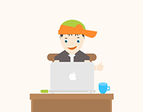 Mac User .. Illustration
