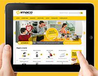 Diseño de interfaces web Imaco