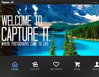 Capture It - Photography Website