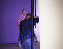 UWE Fashion promotional shoot - Behind the scenes