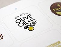 Kingston Oil Olive Brand Development