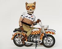 "Fantastic ""Mr. Fox"" Limited Edition 50, Crankbunny"
