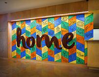 """""""Home"""" Collaborative Installation"""