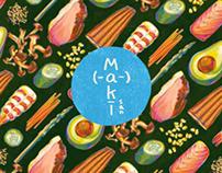 Maki-San - Branding & Print
