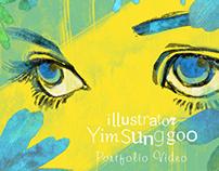 Illustrator Yim Portfolio Video