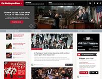 The Washington Times Web Re-Design