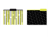 Fashion File Folder Designs