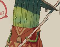 Cactio, the nachos merchant
