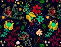 My new floral patterns