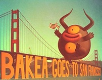 BAKEA GOES TO SAN FRANCISCO