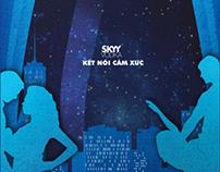 Poster SKYY VODKA ( University project )