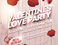Valentines Love Party