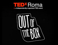 TEDxRoma Out of the box | Motion
