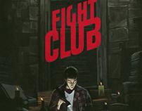 FIGHT CLUB movie fan poster.