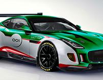 Jaguar F-Type GT3 imagined