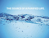 Rebranding and new bottle design for water brand Imsdal