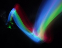 Light Painting for Magic Effects:Glowsticks