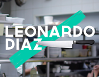 Chef Leonardo Díaz