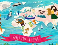 World Trip in My Paper