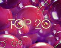 Tr3s - Top 20 - Art direction