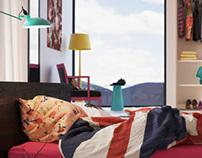 l.bdrm. PopArt bedroom