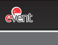 Branding an UI design. Event site