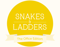 Snakes & Ladders - The Office Edition