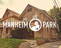 Manheim Park - neighborhood rebrand